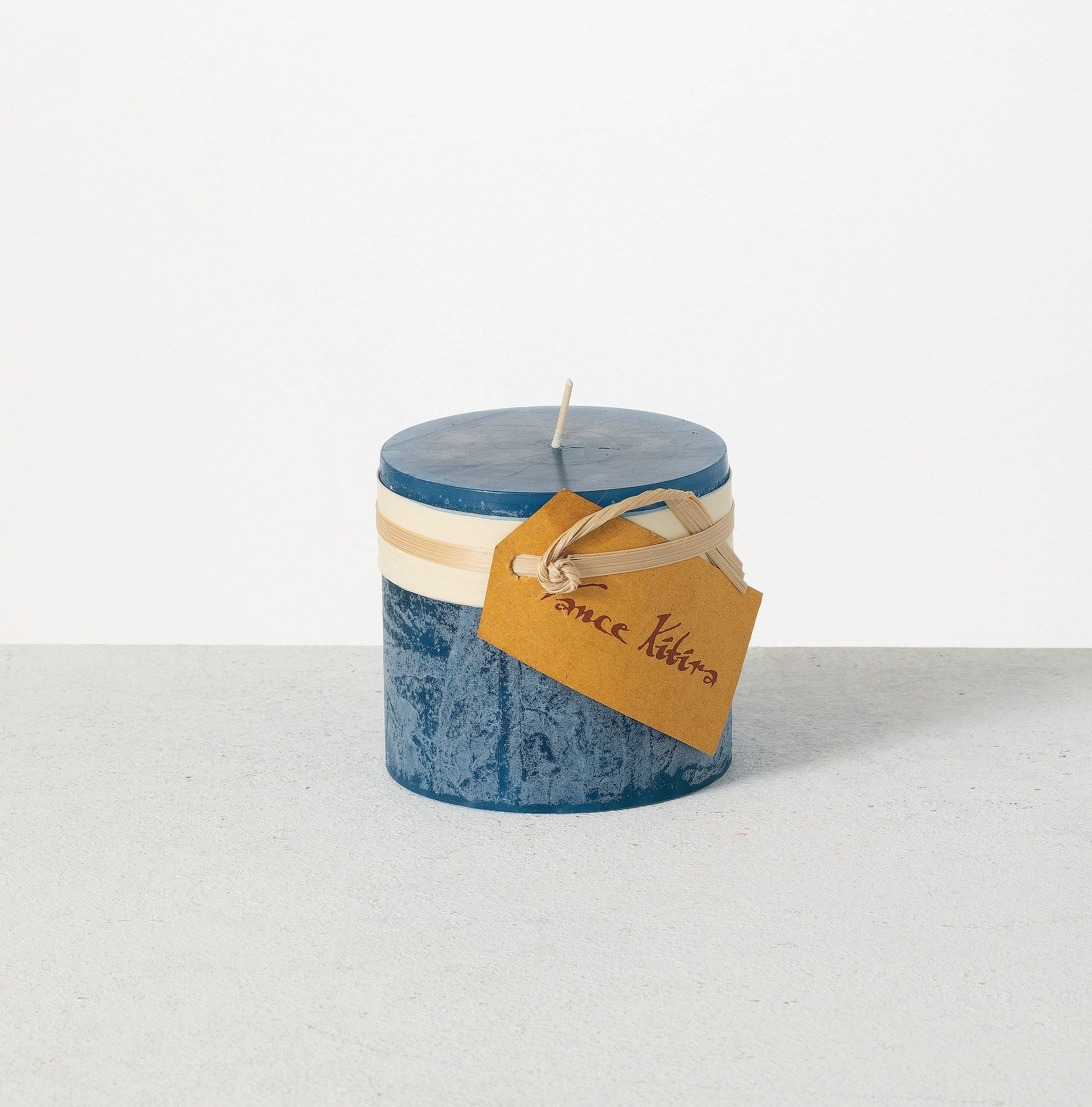 TIMBER CANDLE - English Blue 3x3