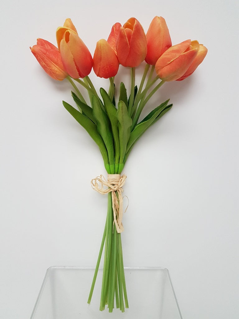 Real Touch Orange Tulip