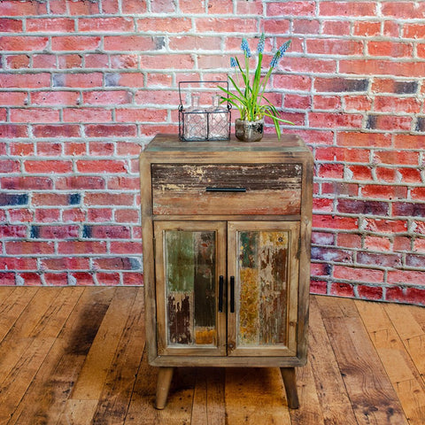 Rustic Distressed Cabinet
