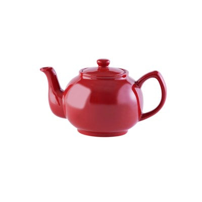 Red Teapot - 6 Cups