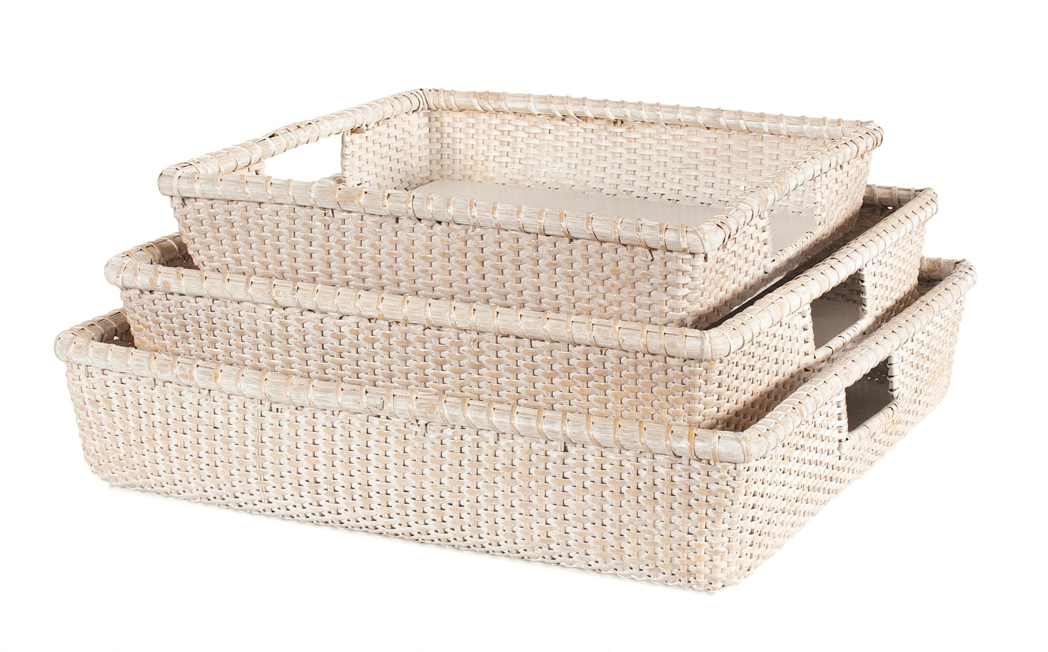 White Weave Tray