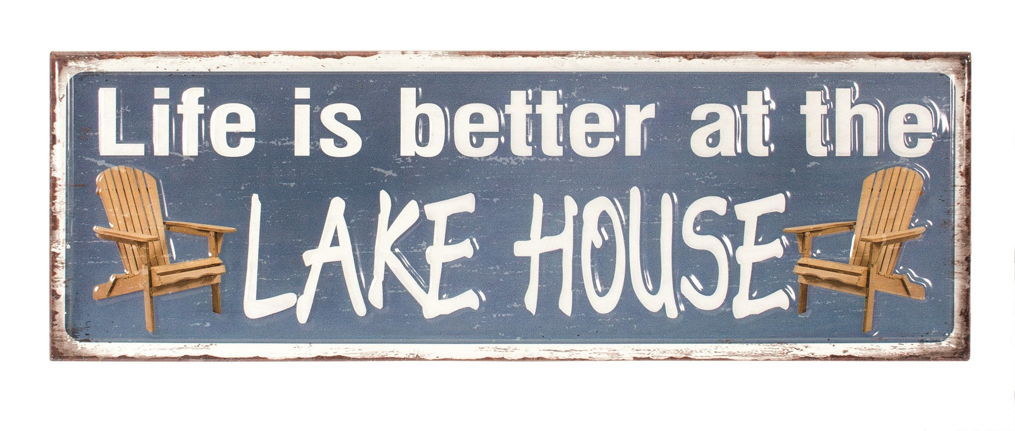 WALL SIGN-LAKE HOUSE