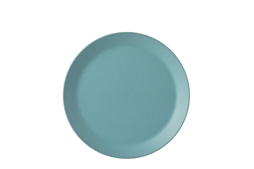 "Bloom Melamine Green 11"" Plate"