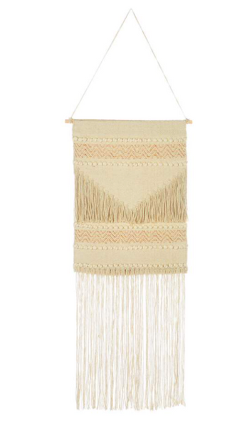 Ivory Wall Tapestry