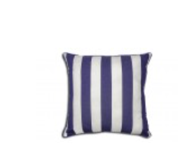 Ahoy Pillow - Navy Blue 25x25