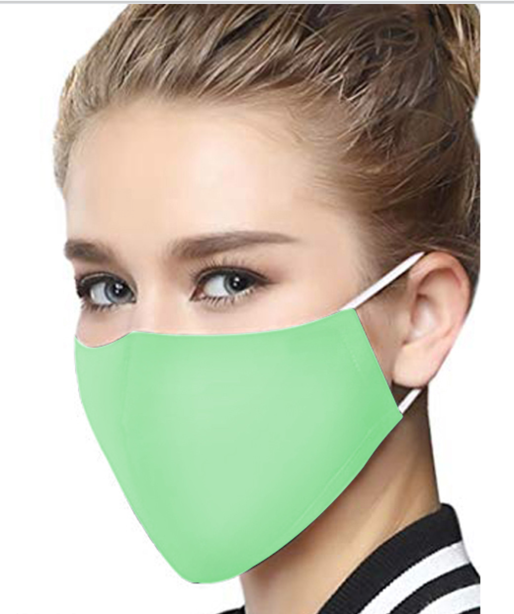 Washable Mask - Adult - Green