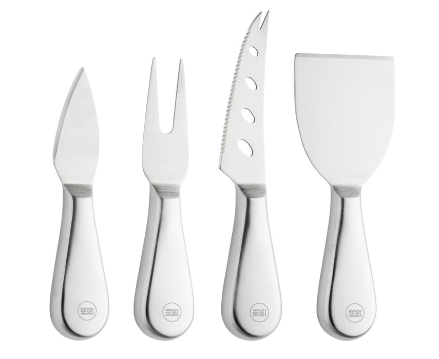 Cheese Knife 4 Piece Set, Stainless Steal