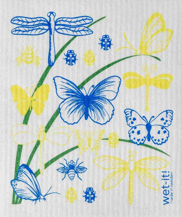 Butterfly Swedish Cloth