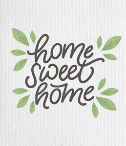 Home Sweet Home Forest Swedish Cloth