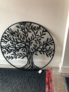 "27.5"" Round Tree of Life Metal"