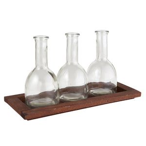 Flower Vase Tray Holder