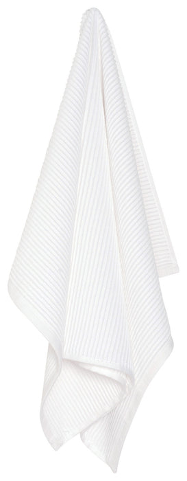 Kitchen Towel Ripple White