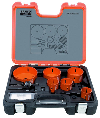 Bahco Holesaw Set