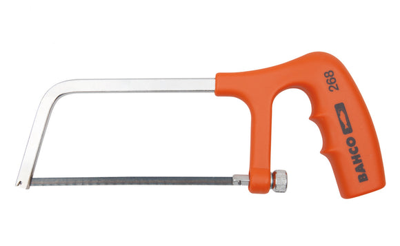 Junior hacksaw, pistol grip handle