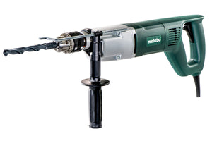 Metabo  Drill 1100 W, 2 Speed Gear Box;  Safety Clutch, Variable Speed - BDE 1100