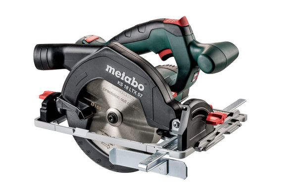 Metabo  18 V Ø165 mm Circular Saw 4600 rpm - SKIN ONLY KS 18 LTX 57