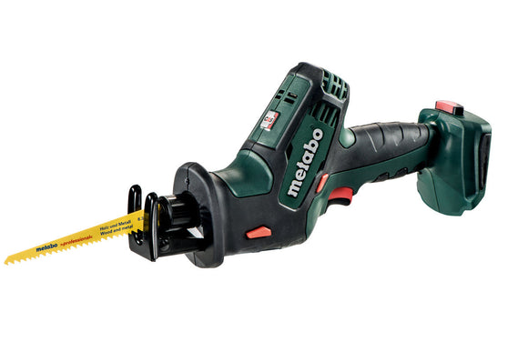 Metabo  18 V Compact Reciprocating/Sabre Saw - SKIN ONLY SSE 18 LTX Compact