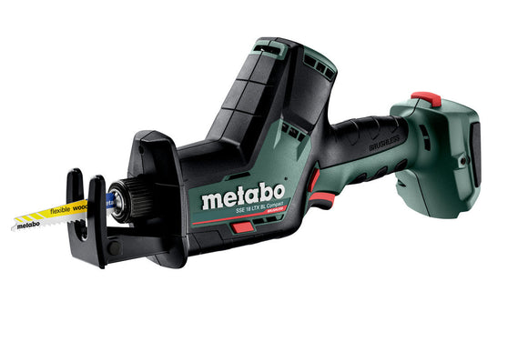 Metabo  18 V BRUSHLESS Compact Reciprocating/Sabre Saw - SKIN ONLY SSE 18 LTX BL Compact