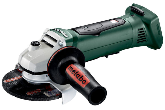 Metabo  18 V Ø125 mm Angle Grinder with Paddle Switch - WP 18 LTX 125 Quick
