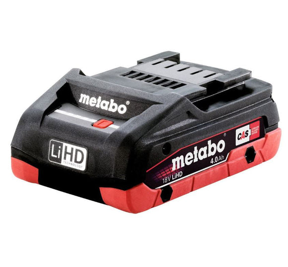 Metabo  18 V LiHD Battery Pack 4.0 Ah - Accessory 4.0 LiHD