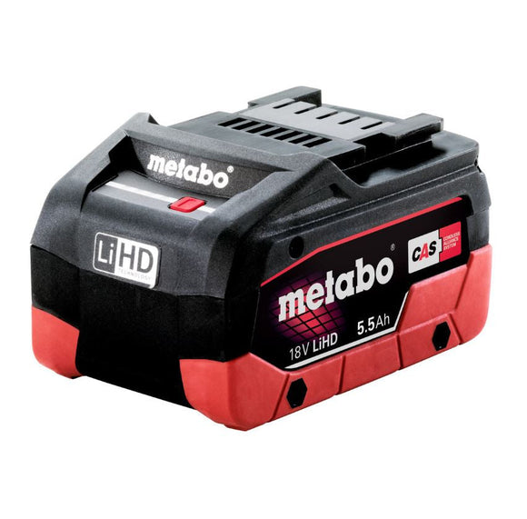 Metabo  18 V LiHD Battery Pack 5.5 Ah - Accessory 5.5 LiHD