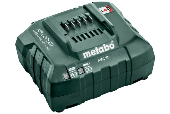 Metabo  12 V - 36 V ASC 55 Air-cooled Slide-on Battery Pack Charger ASC 55 (FORMERLY ASC 30-36 V)