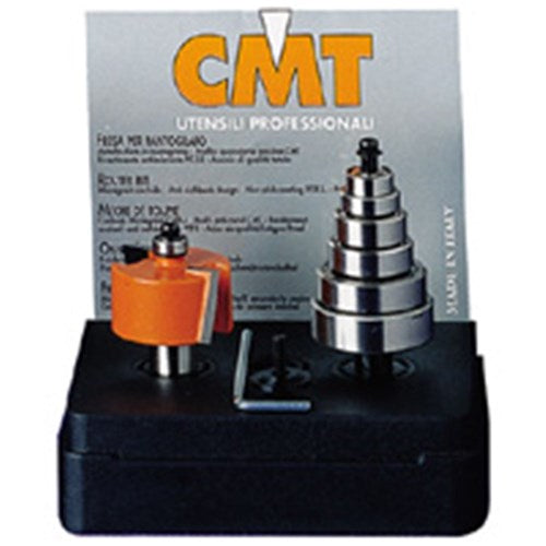 CMT 12.7 RABBET SET 6BEARING 1/4