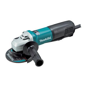 "Makita 125mm (5"") Angle Grinder, 1400W, Constant Speed Control, soft start, current limiter, SJS"