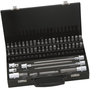 49 piece 10mm Socket & Bit Set in various profiles - F&K POWERTOOLS PTY LTD