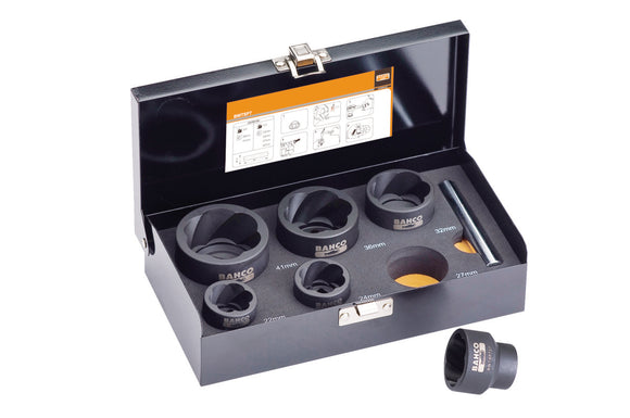 Twist Socket Set, 6 piece, 1/2