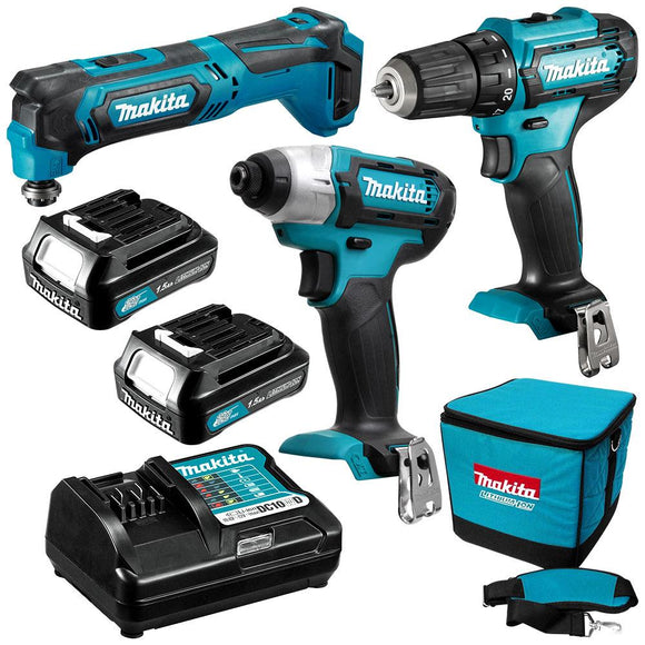 Makita 12V Max 3 Piece Combo Kit