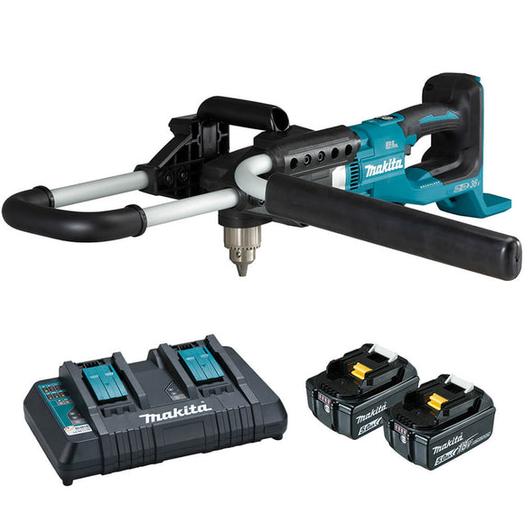 Makita 18Vx2 Brushless Earth Auger