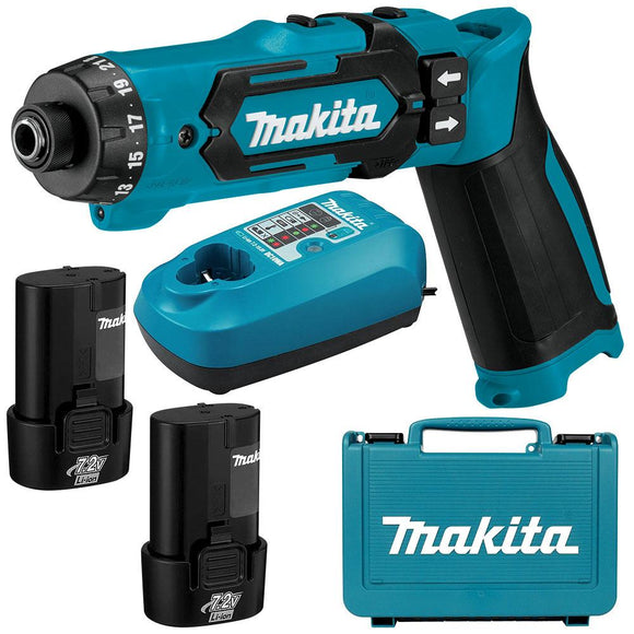 Makita 7.2V Driver Drill Kit