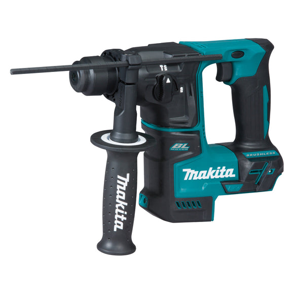 Makita 18V SUB-COMPACT BRUSHLESS 17mm Rotary Hammer - Tool Only