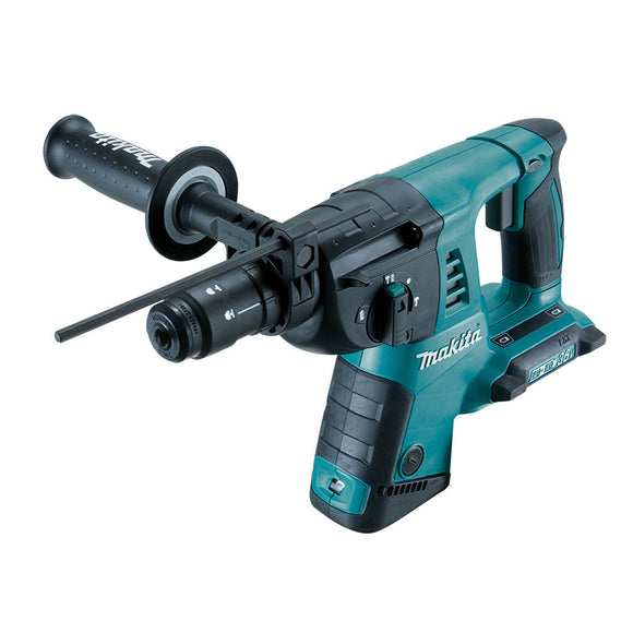 Makita 18Vx2 26mm SDS Plus Rotary Hammer, quick change chuck - Tool Only