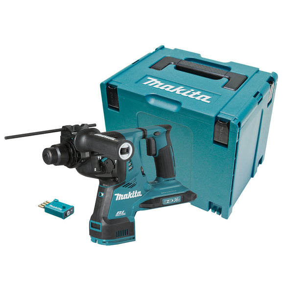 Makita 18Vx2 BRUSHLESS AWS* 28mm SDS Plus Rotary Hammer - Tool Only *AWS Receiver sold separately (198901-5)