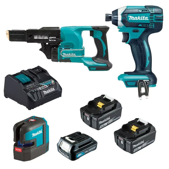 Makita 18V Cordless 3 Piece Combo Kit