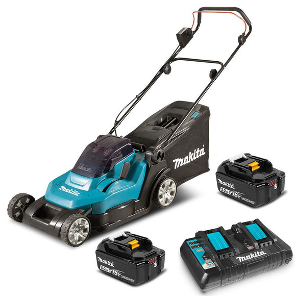 Makita 18Vx2 Lawn Mower 430mm (17