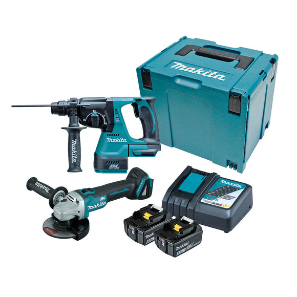 Makita 18V Cordless  2 Piece BRUSHLESS Combo Kit