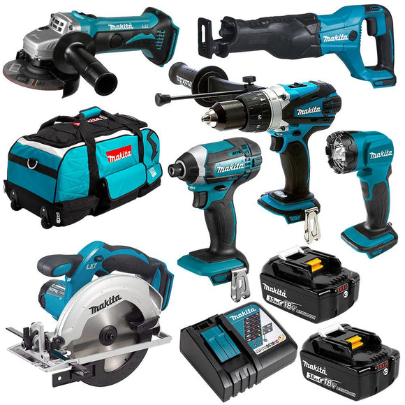 Makita 18V 6 Piece Combo Kit