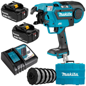 Makita 18V Brushless* Rebar Tying Tool Kit