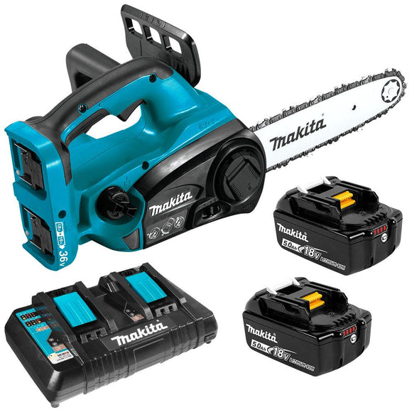 Makita 18Vx2 300mm Chainsaw Kit