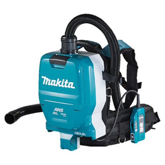 Makita 18Vx2 Brushless AWS Backpack Vacuum