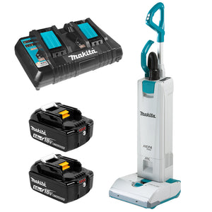 Makita 18Vx2 Brushless Upright Vacuum Cleaner Kit