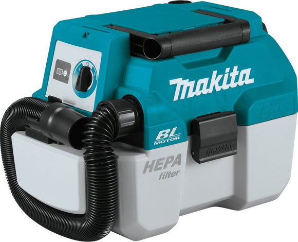 Makita 18V Brushless Wet/Dry Dust Extractor