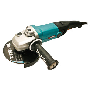 "Makita 180mm (7"") Angle Grinder, 1800W, Constant Speed Control, soft start, current limiter"