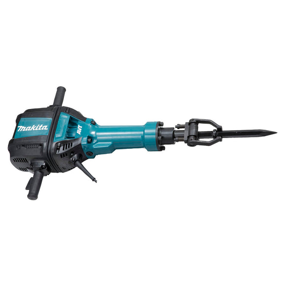 Makita Electric Breaker, 28.6mm Hex Shank, 2,000W, 31.3kg, with AVT Advanced