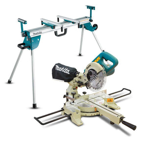 "Makita 190mm (7-1/2"") Slide Compound Saw & Stand Combo"