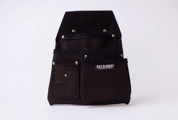 Buckaroo 3 Pocket Low Drop Bag - Black