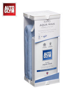 AQUA WAX KIT, , AUTOGLYM, - F&K POWERTOOLS PTY LTD